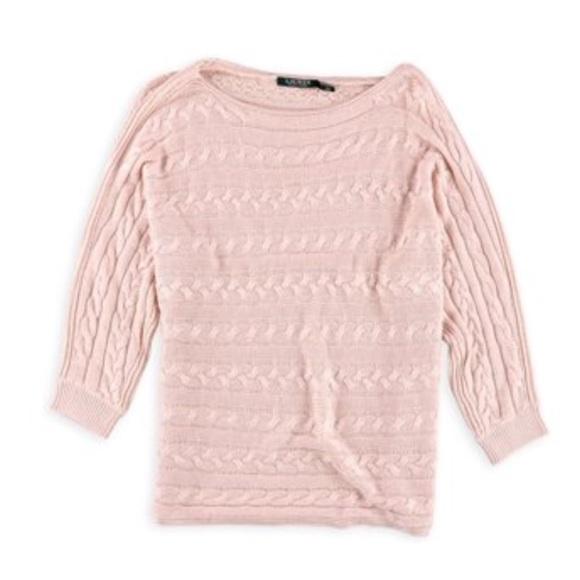 Ralph Lauren Lauren Sweaters Ralph Lauren Womens Cable Knit